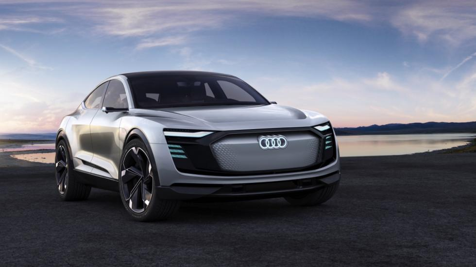 Audi e-tron Sportback concept frontal