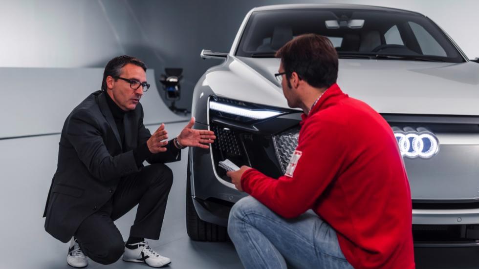 Audi e-tron Sportback concept led