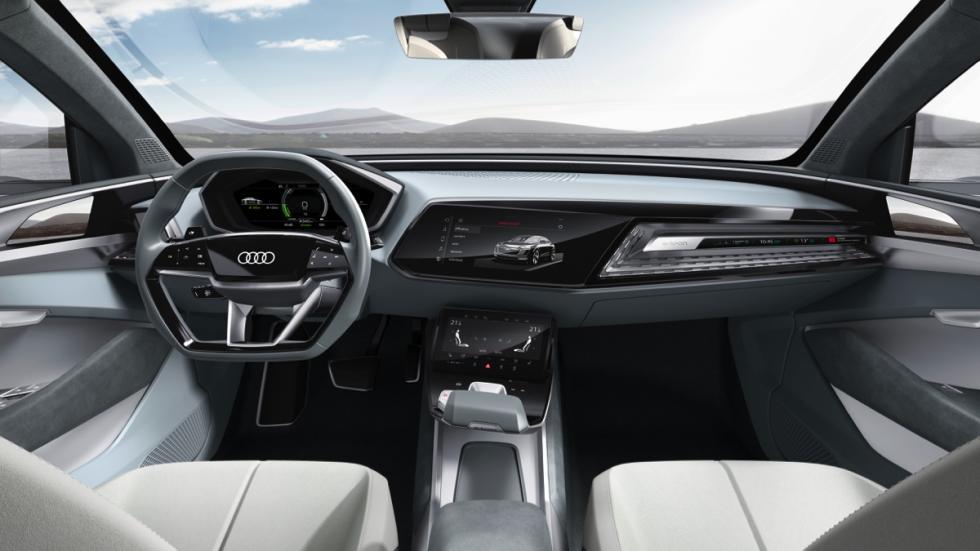 Audi e-tron Sportback concept interior