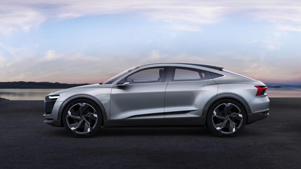 Audi e-tron Sportback concept lateral