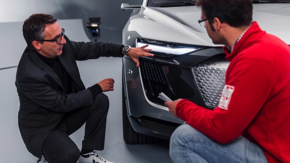 Audi e-tron Sportback concept led matrix