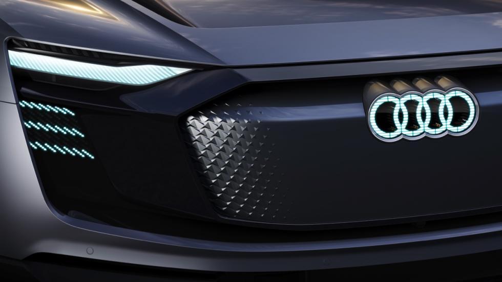 Audi e-tron Sportback concept parrilla