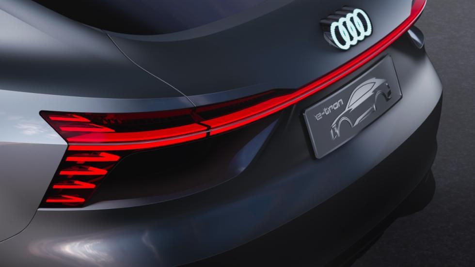 Audi e-tron Sportback concept detalle exterior