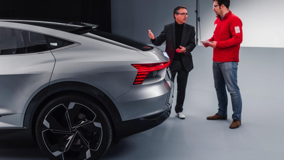 Audi e-tron Sportback concept explicacion