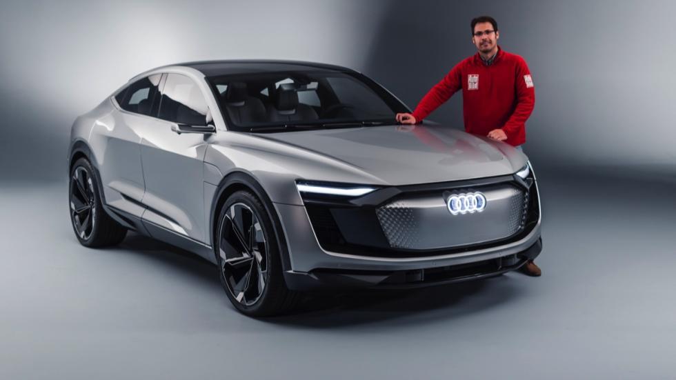 Audi e-tron Sportback concept posado