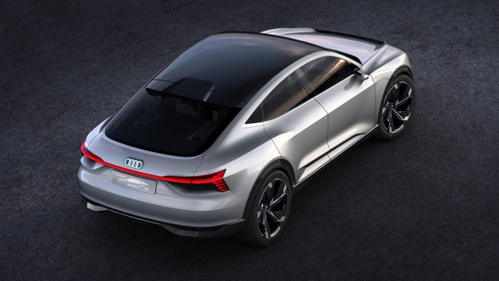 Audi e-tron Sportback concept techo