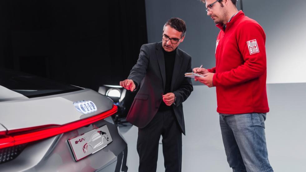 Audi e-tron Sportback concept diseñador