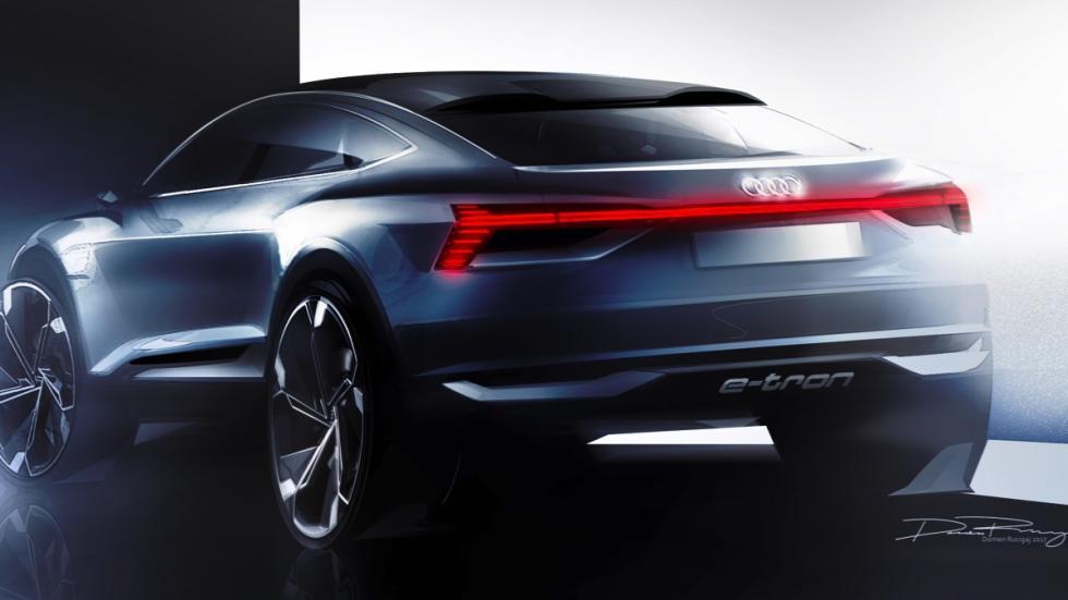 Audi e-tron Sportback concept trazos