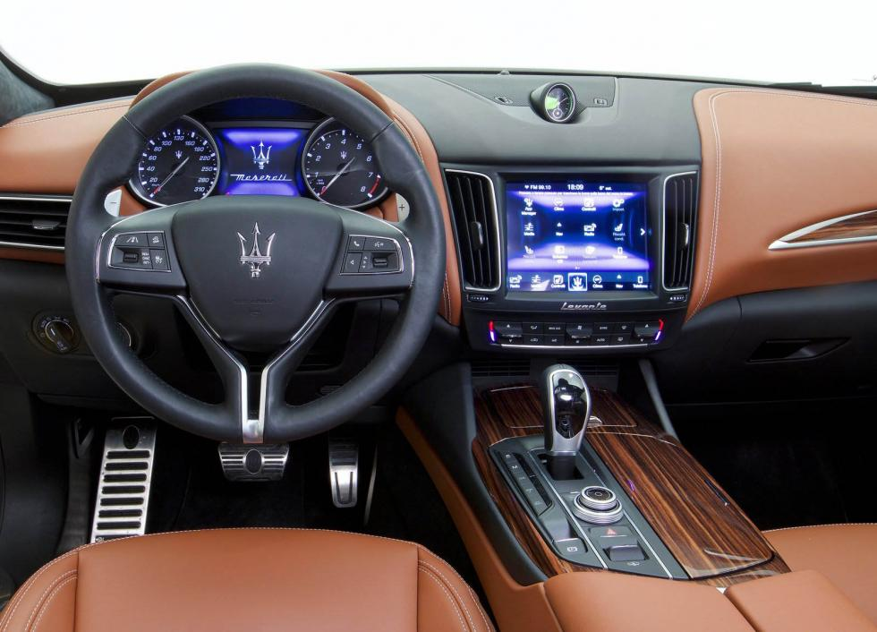Interior del Maserati Levante