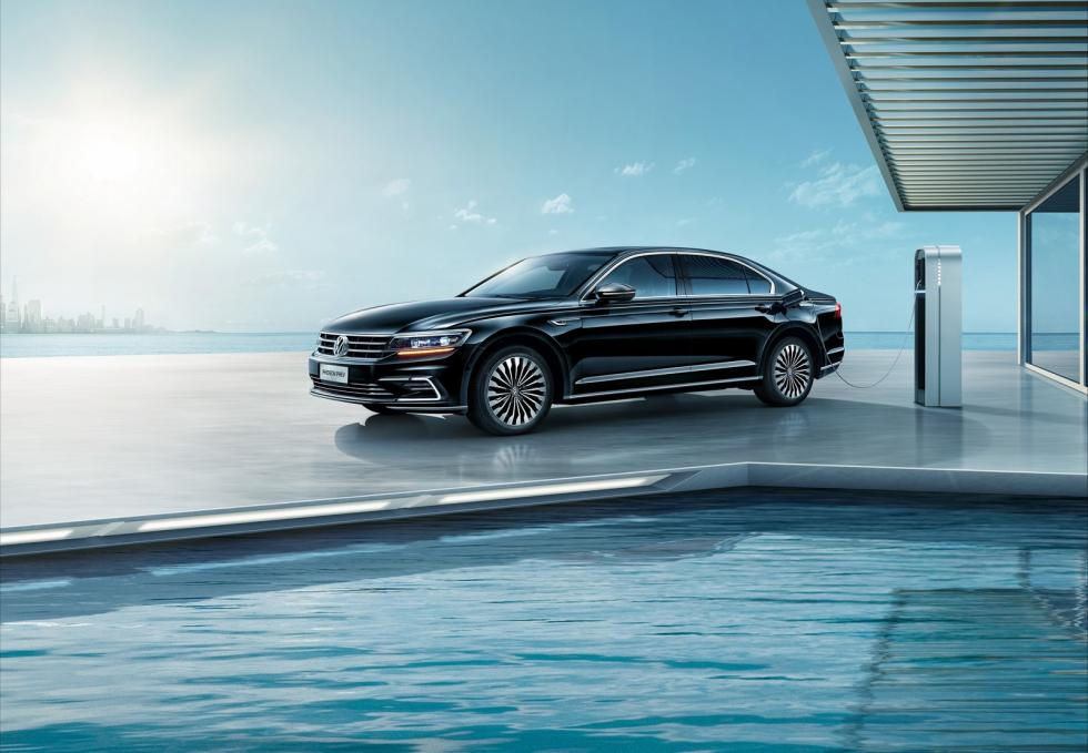 VW Phideon híbrido enchufable