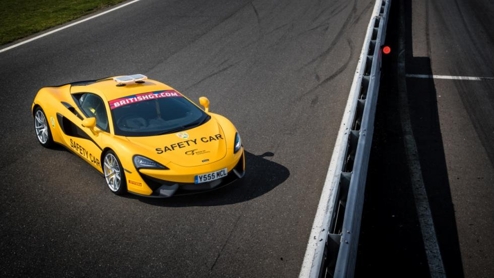 McLaren 540C Safety Car