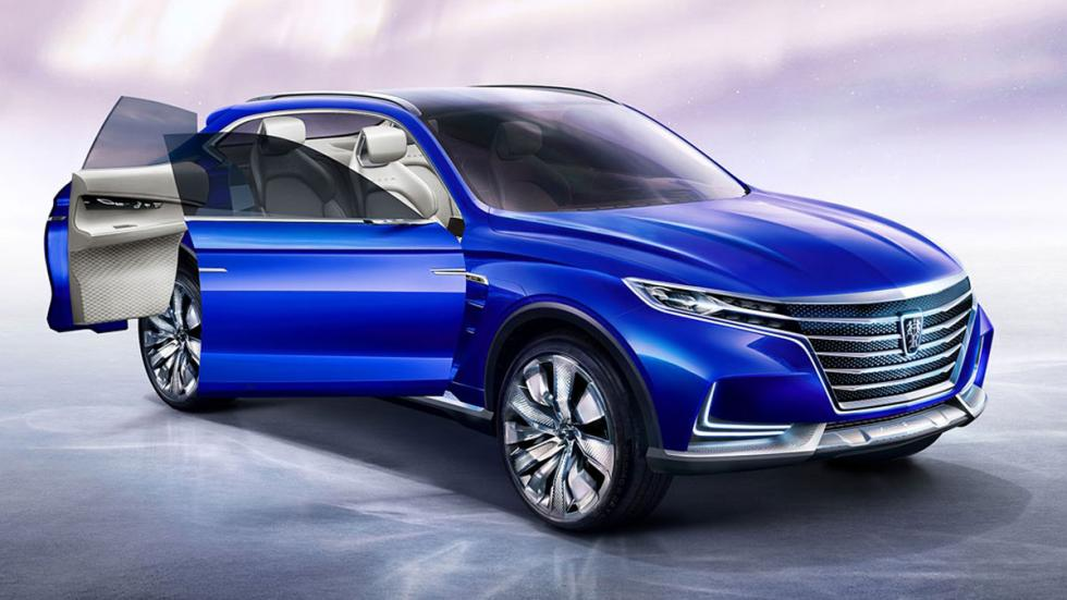 Roewe Vision-E concept