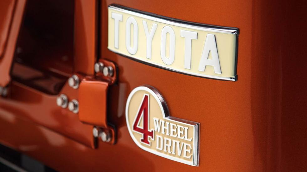 Toyota Land Cruiser FJ40 FJ Company logos