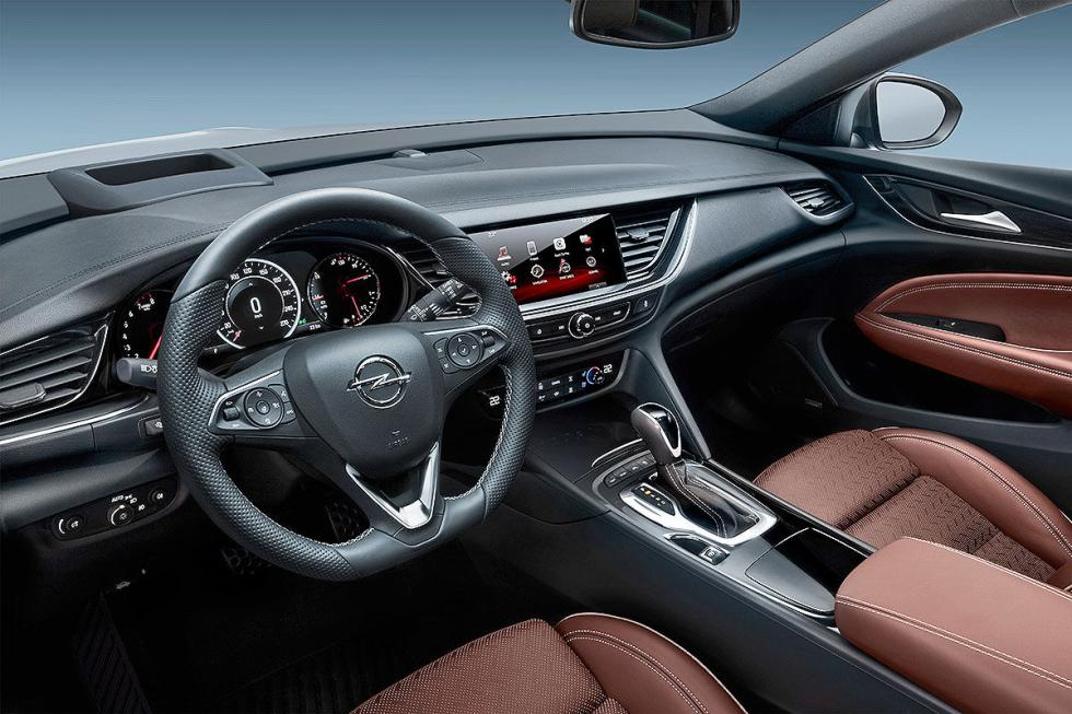 Interior del Opel Insignia Country Tourer