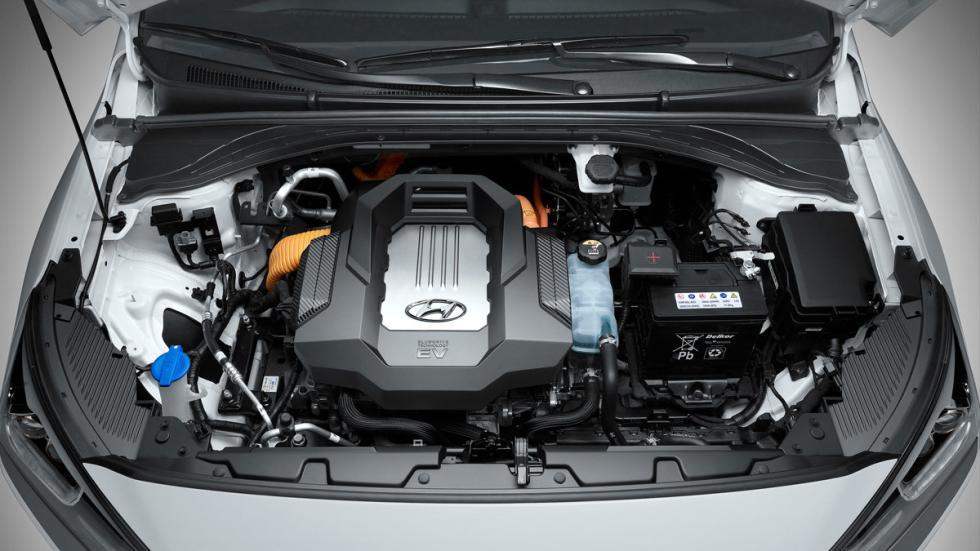 hyundai ioniq eléctrico 2017 motor