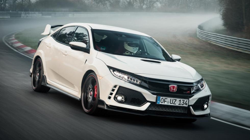 Honda Civic Type R récord Nürburgring delantera