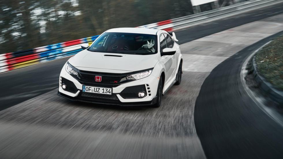 Honda Civic Type R récord Nürburgring morro curva