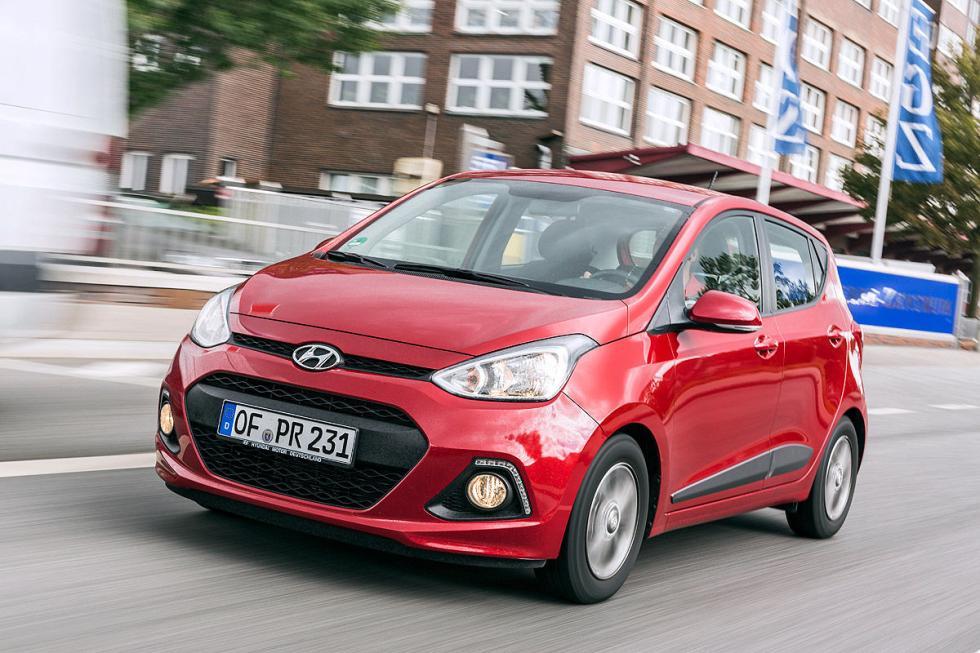 9. Hyundai i10 1.0 (67 CV). Oficial: 4,7 litros. Test: 5,2 litros.