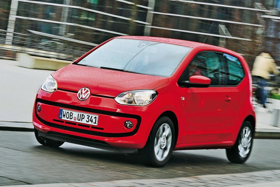 7. VW Up! (60 CV). Oficial: 4,5 litros. Test: 5,1 litros.