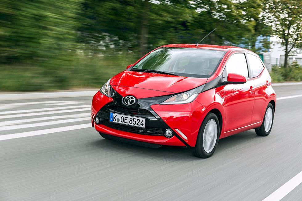 6. Toyota Aygo (69 CV). Oficial: 4,1 litros. Test: 5,0 litros.