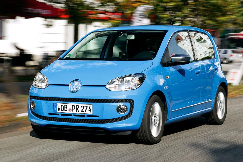 4.  VW Up BlueMotion Technology (75 CV)