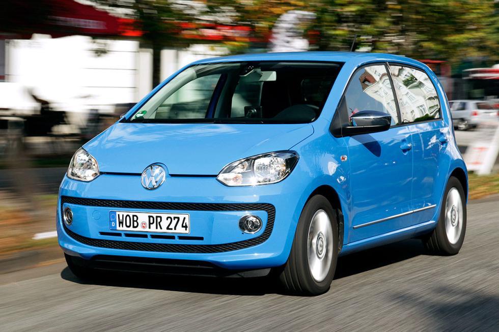 4.  VW Up BlueMotion Technology (75 CV)
