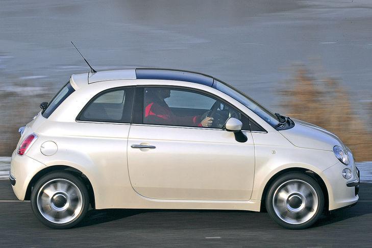 3. Fiat 500C 1.3 Multijet 16V DPF (95 CV). Oficial: 3,9 litros. Test: 4,6 litros