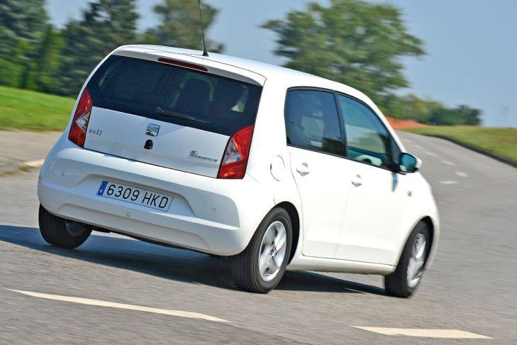 2. Seat Mii 1.0 Ecomotive (60 CV). Oficial: 4,1 litros. Test: 4,5 litros.
