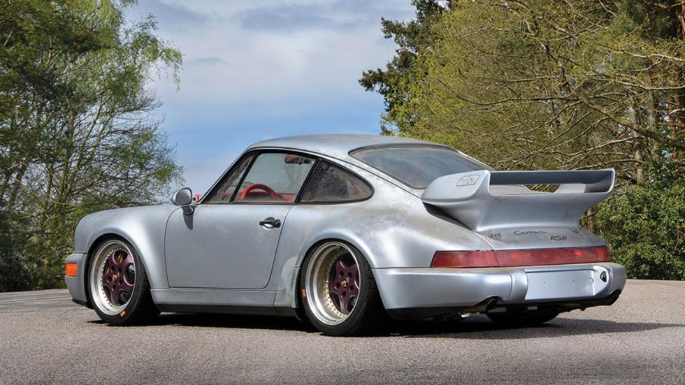 subasta Porsche 911 RSR 3.8 de 1993 sin usar zaga