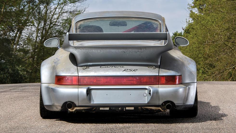 subasta Porsche 911 RSR 3.8 de 1993 sin usar trasera