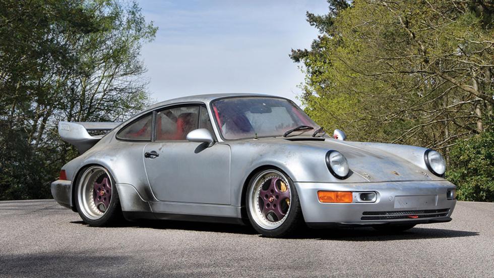 subasta Porsche 911 RSR 3.8 de 1993 sin usar delantera tres cuartos