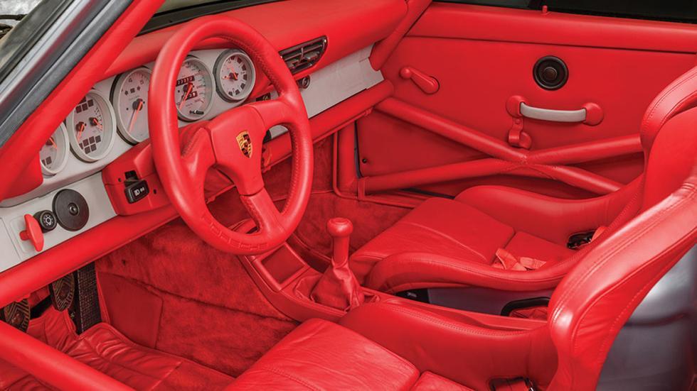 subasta Porsche 911 RSR 3.8 de 1993 sin usar habitáculo