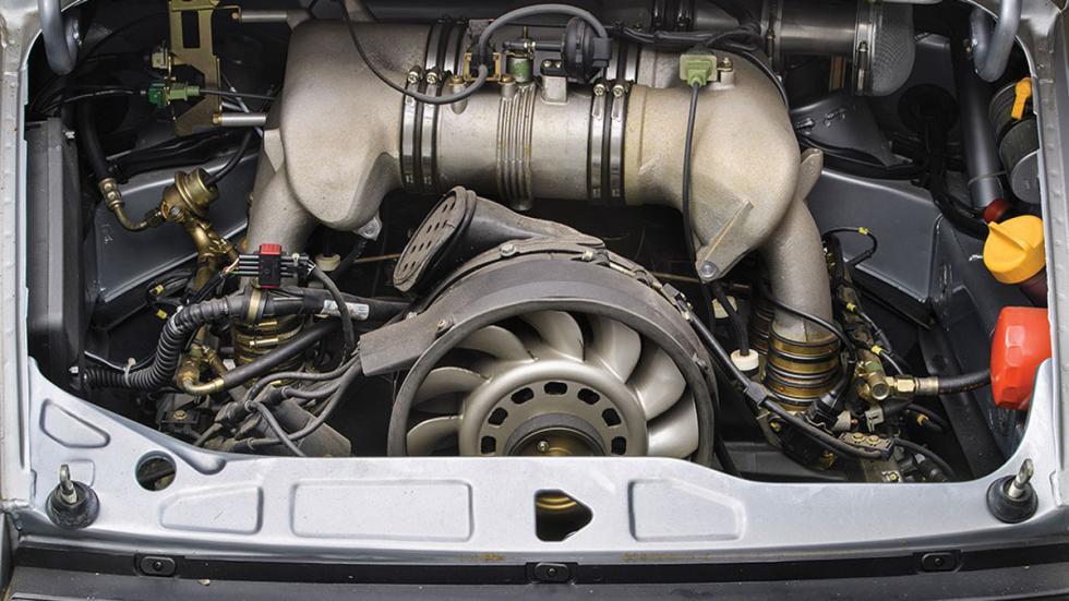 subasta Porsche 911 RSR 3.8 de 1993 sin usar motor