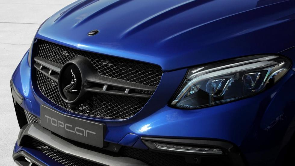 Mercedes GLE Coupe Blue Gem by TopCar