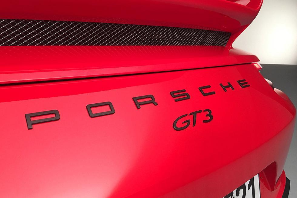 Prueba del Porsche 911 GT3 (2017)