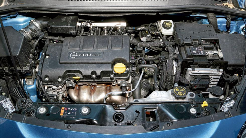 Opel Corsa GLP motor