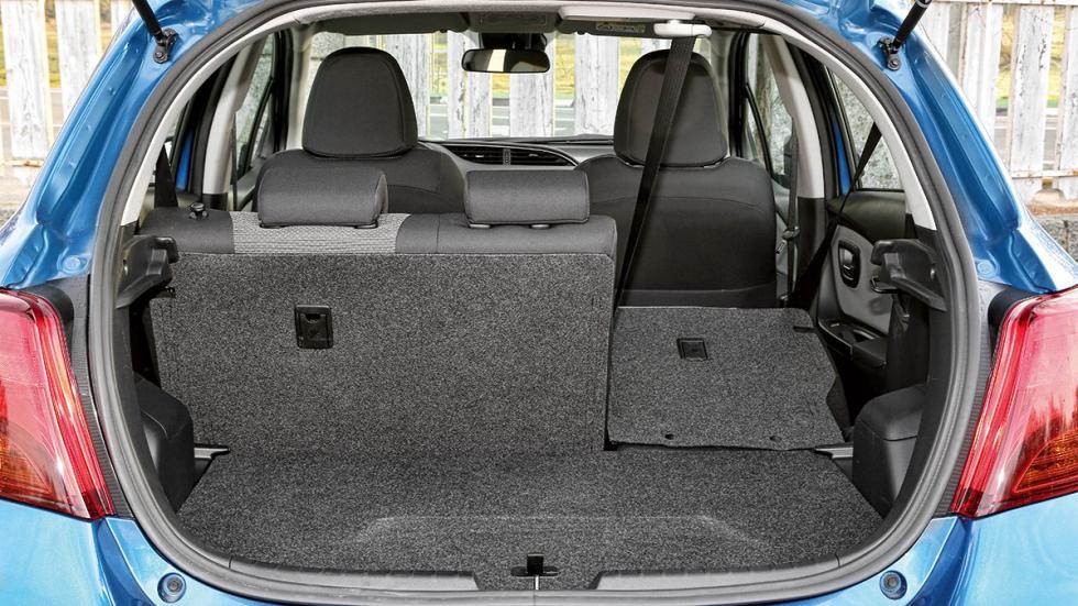 Toyota Yaris Hybrid maletero