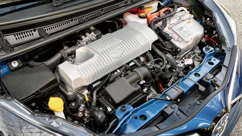 Toyota Yaris Hybrid motor
