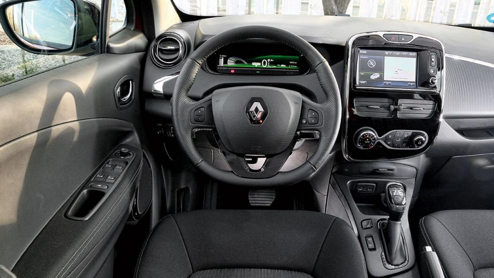 Renault Zoe habitáculo