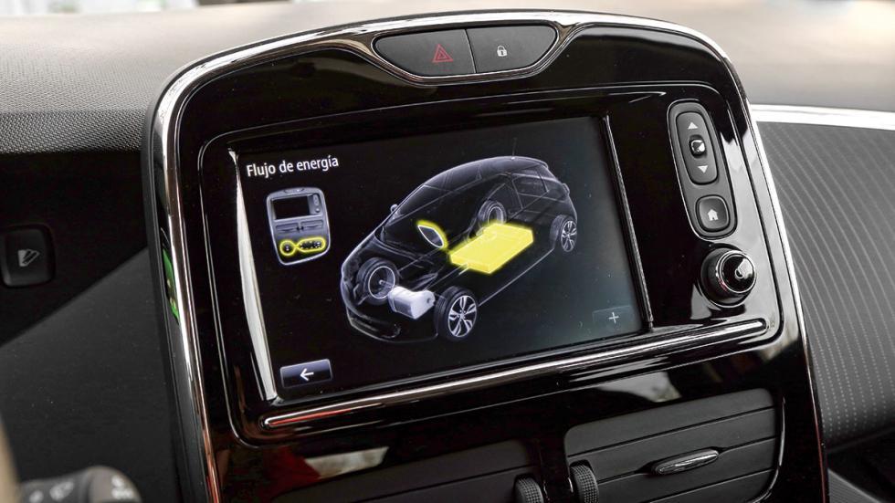 Renault Zoe navegador