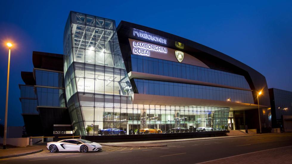 Concesionario Lamborghini de Dubai