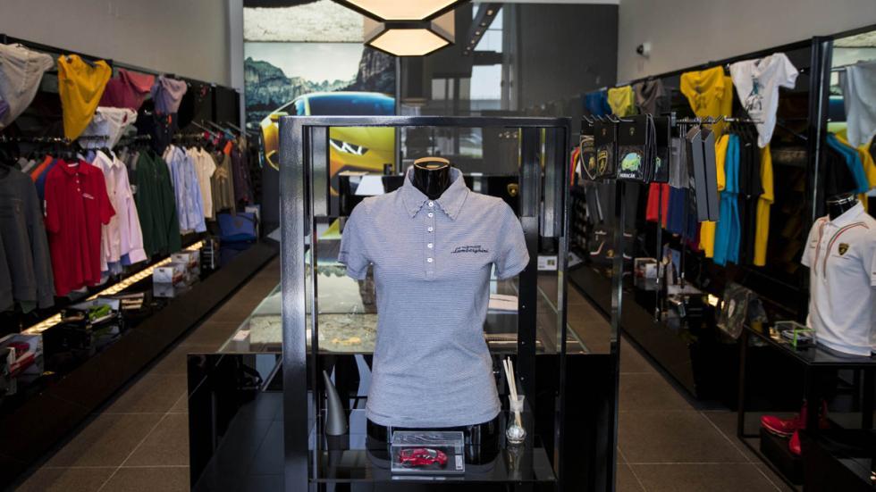 Concesionario Lamborghini Dubai tienda ropa