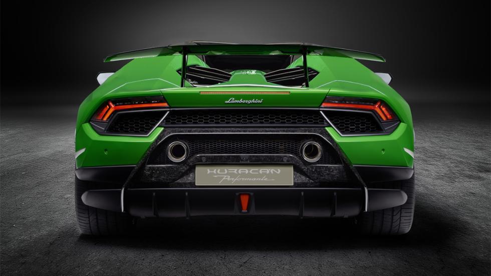 Lamborghini Huracán Performante Spyder zaga