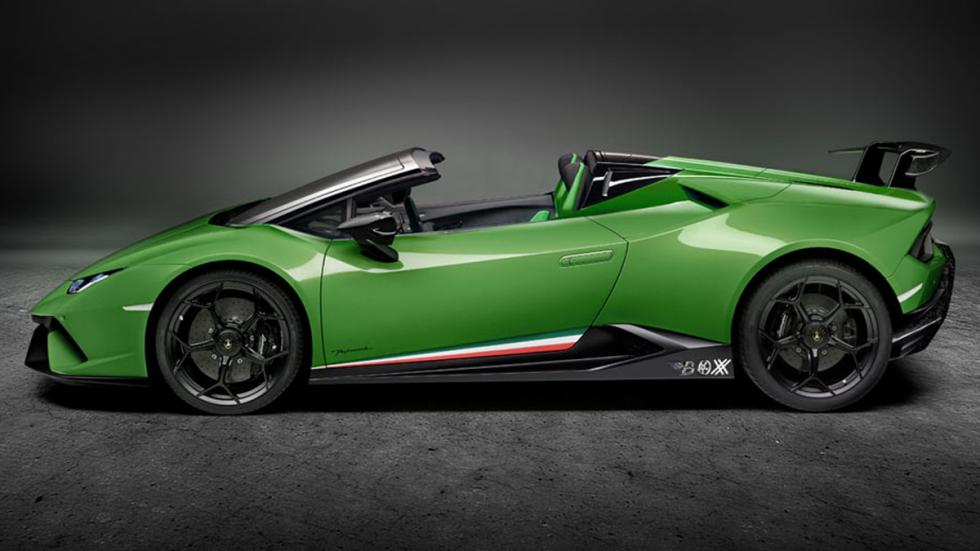 Lamborghini Huracán Performante Spyder lateral
