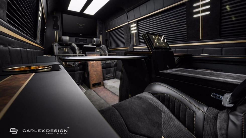Mercedes Sprinter Jet Van by Carlex Design interior