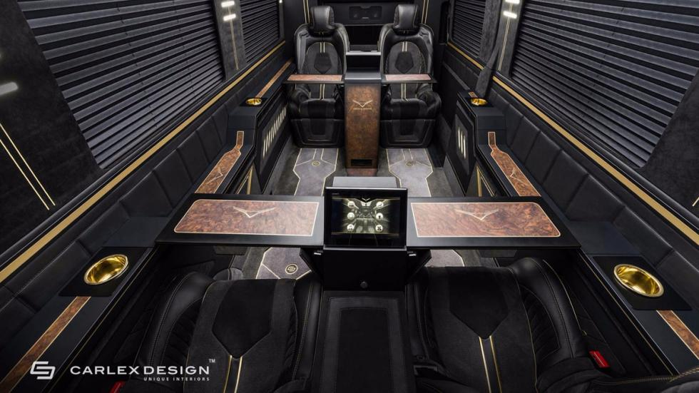 Mercedes Sprinter Jet Van by Carlex Design plazas