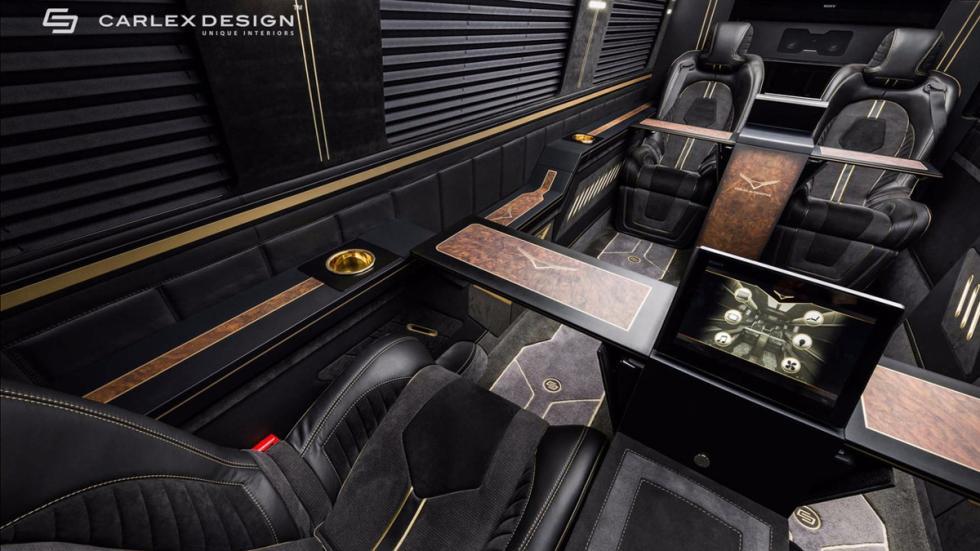 Mercedes Sprinter Jet Van by Carlex Design habitáculo