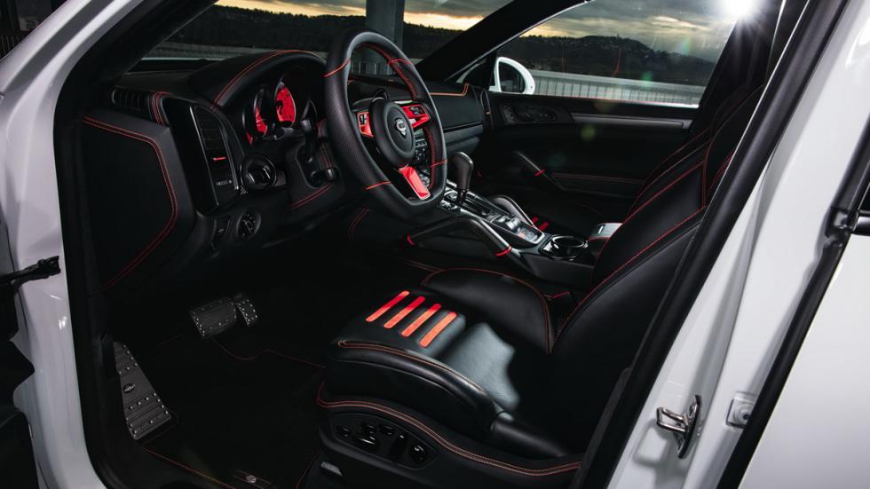 Techart Magnum Sport Edition 30 Years asientos delanteros