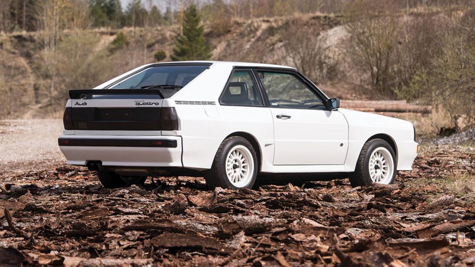 Audi Sport quattro 1985 trasera