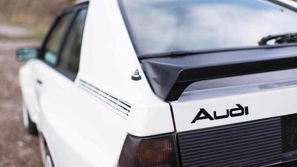 Audi Sport quattro 1985 detalle zaga